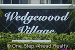 sign for Wedgewood Village