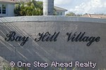 sign for Bay Hill Village