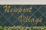 sign for Newport Village