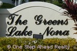 sign for Lake Nona Village