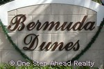 sign for Bermuda Dunes