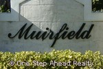 sign for Muirfield Village